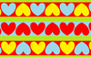 Strippy Hearts Image
